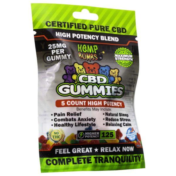 Hemp Bombs CBD High Potency Gummies
